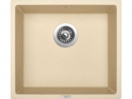 Granitový dřez Sinks FRAME 457 Sahara  + Čistící pasta Sinks na dřezy