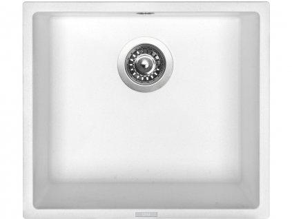 Granitový dřez Sinks FRAME 457 Milk  + Čistící pasta Sinks na dřezy