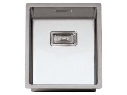 Nerezový dřez Sinks BOX 390 FI  + Čistící pasta Sinks