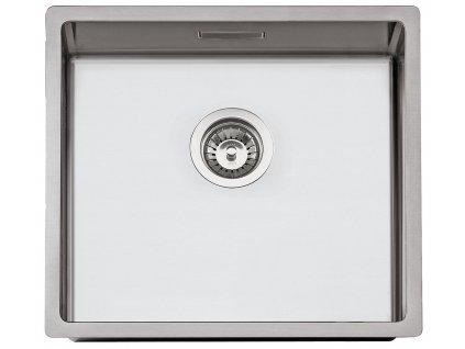 Nerezový dřez Sinks BOX 500 RO 1,0mm