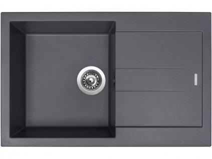 Granitový dřez Sinks AMANDA 780 Titanium  + Čistící pasta Sinks na dřezy