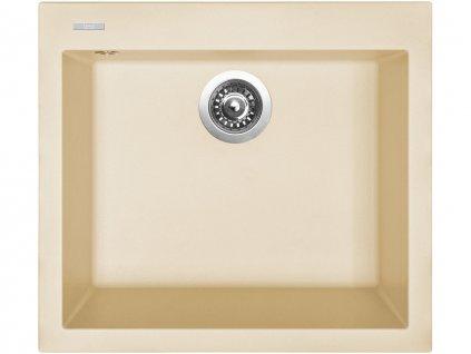 Granitový dřez Sinks CUBE 560 Sahara  + Čistící pasta Sinks na dřezy