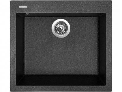 Granitový dřez Sinks CUBE 560 Granblack  + Čistící pasta Sinks na dřezy