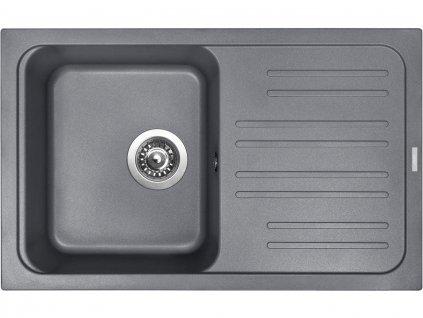 Granitový dřez Sinks CLASSIC 740 Titanium  + Čistící pasta Sinks na dřezy