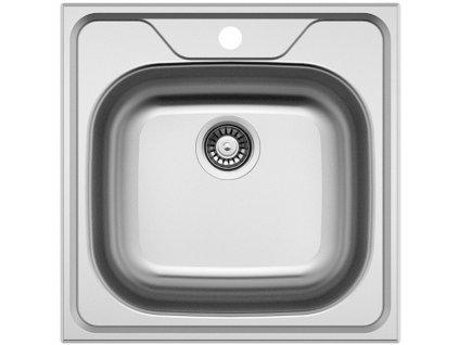 Nerezový dřez Sinks CLASSIC 480 V 0,6mm matný