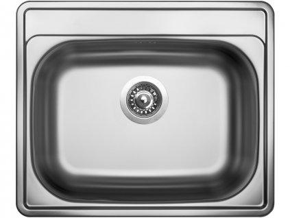 Nerezový dřez Sinks COMFORT 600 V 0,6mm matný