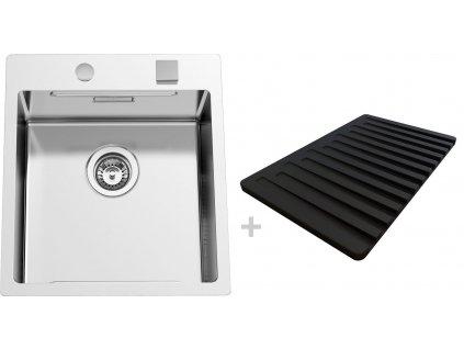 Nerezový dřez Sinks BOXERSTEP 450 RO + VERSUS  + Čistící pasta Sinks