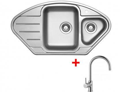 Nerezový dřez Sinks LOTUS 945.1 V+VITALIA