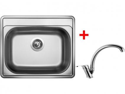 Nerezový dřez Sinks COMFORT 600 V+EVERA