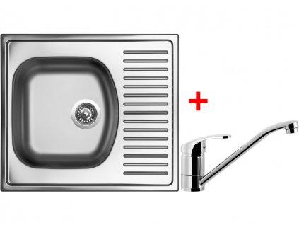 Nerezový dřez Sinks SHORT 580 V+PRONTO