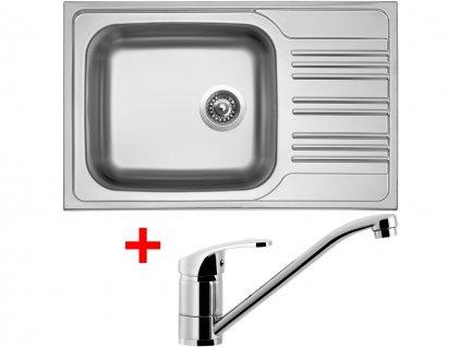 Nerezový dřez Sinks STAR 780 XXL V+PRONTO