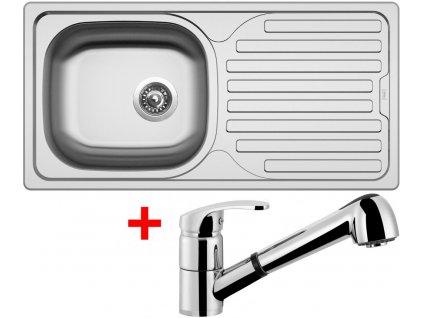 Nerezový dřez Sinks CLASSIC 860 6V+LEGENDA S