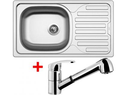 Nerezový dřez Sinks CLASSIC 760 6V+LEGENDA S