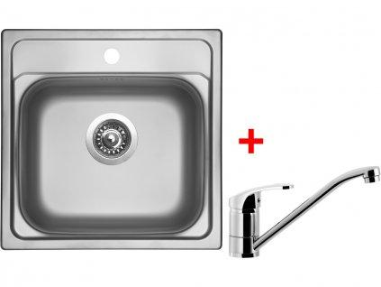 Nerezový dřez Sinks MANAUS 480 V+PRONTO