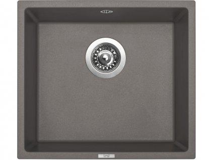 Granitový dřez Sinks FRAME 457 Truffle  + Čistící pasta Sinks