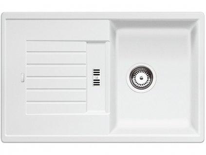 Granitový dřez Blanco ZIA 45 S bílá