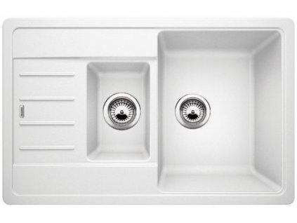 Granitový dřez Blanco LEGRA 6 S Compact bílá oboustranné prov.