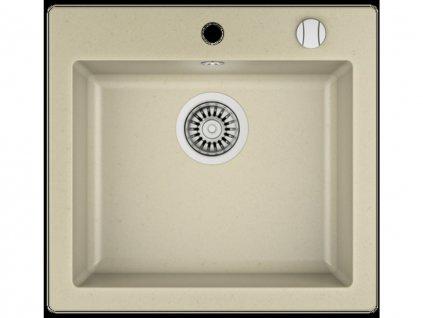 Granitový jednodřez Granitový dřez Teka LIVO 50 S-TQ Topaz