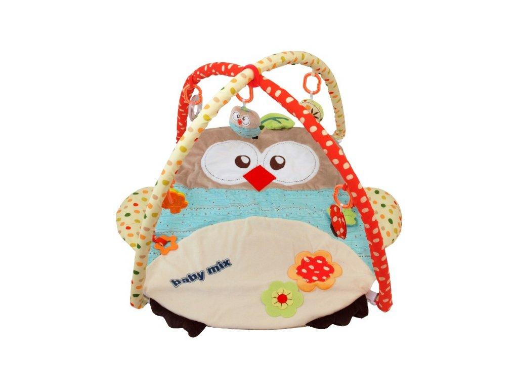 Baby Mix hrací deka sova