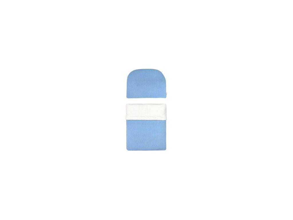 EMITEX Souprava do kočárku modrá