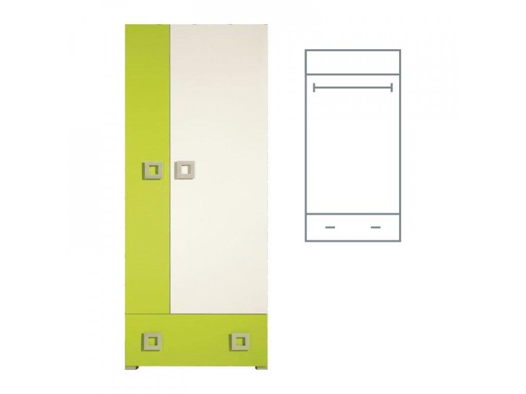 labirynt šatní skříň la1