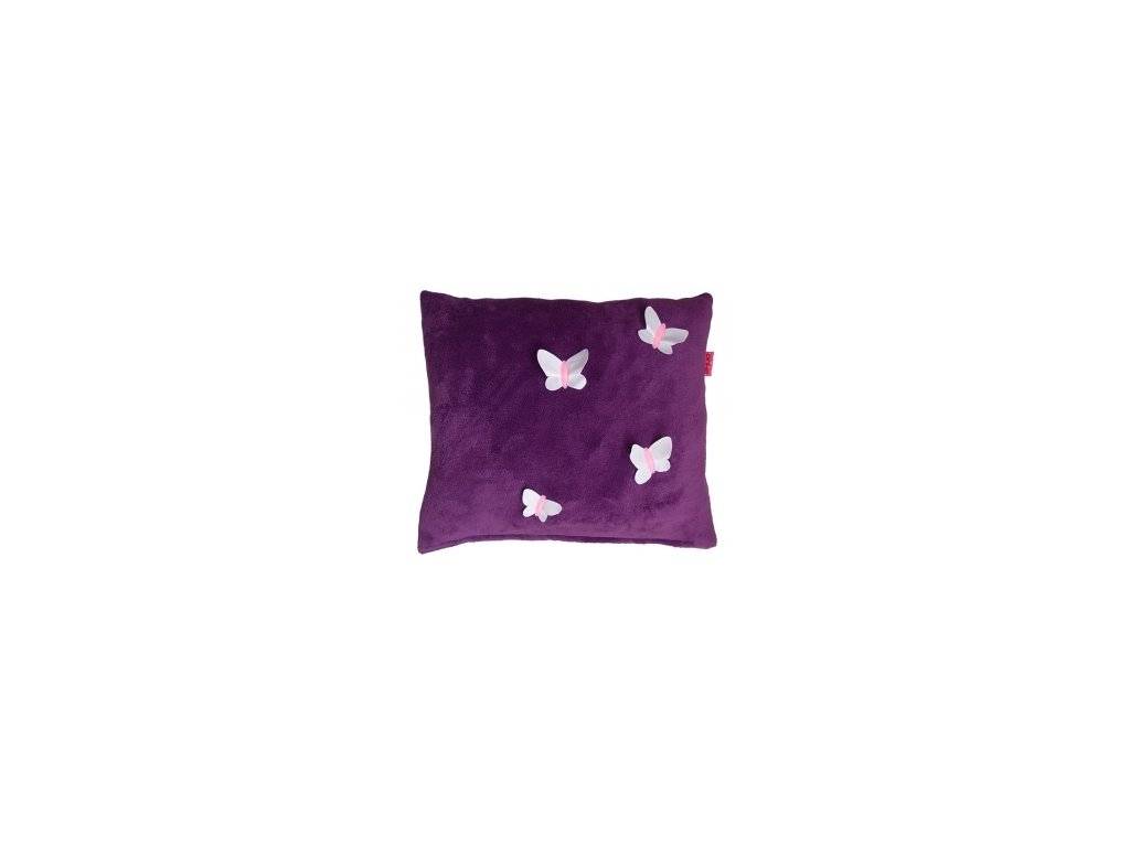 Pinkie polštář Violet Butterfly motýl