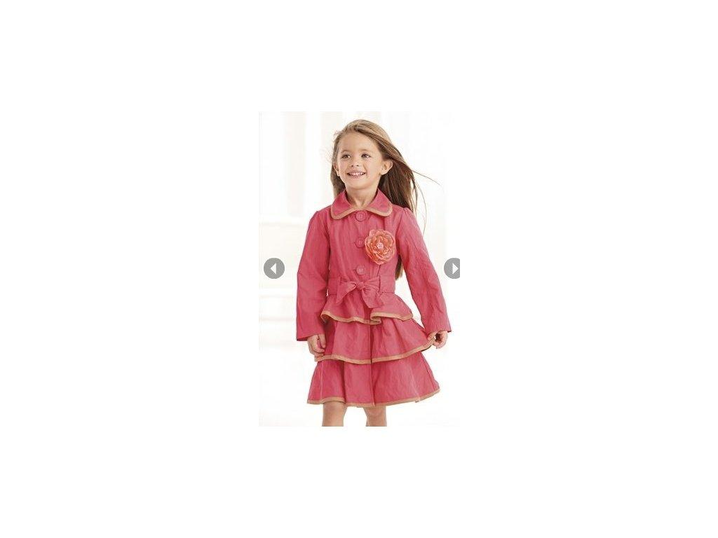 next dívčí kabátek