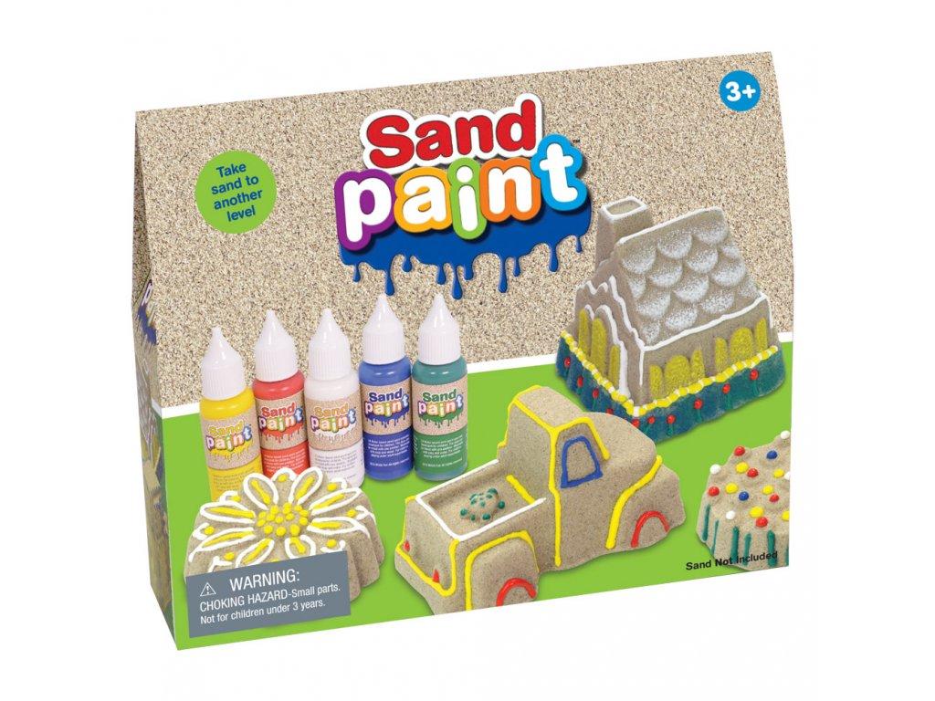 barva na kinetický písek