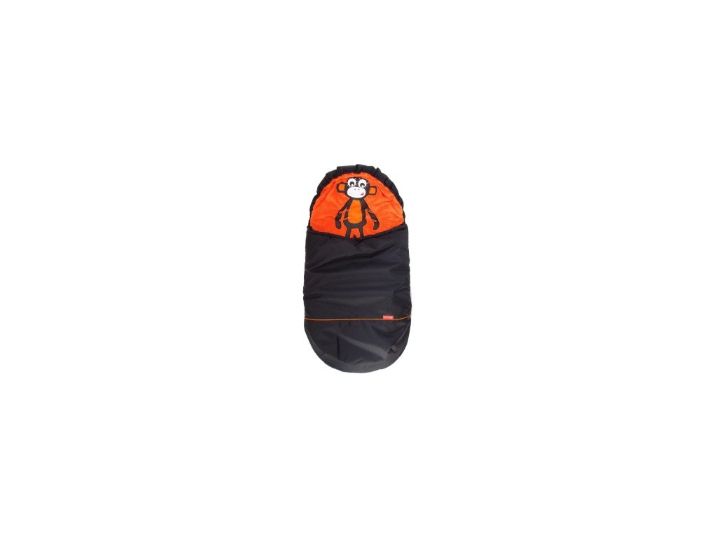 zimní fusak pinkie orange black monkey