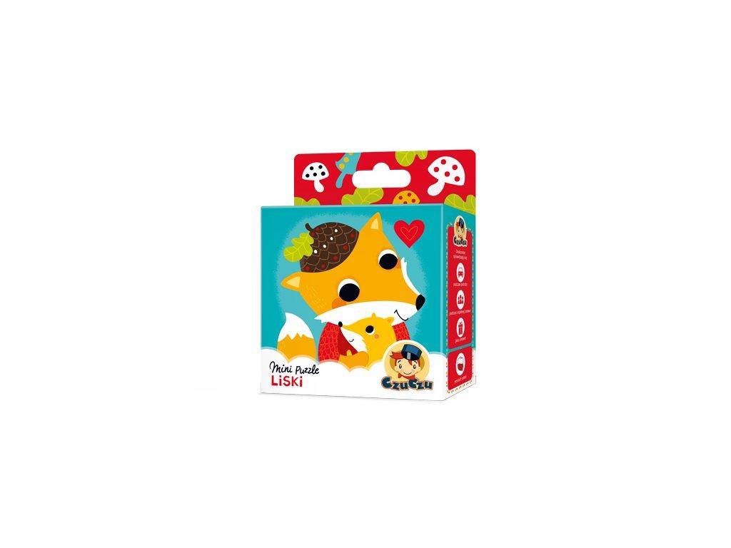 CzuCzu Mini puzzle Liška