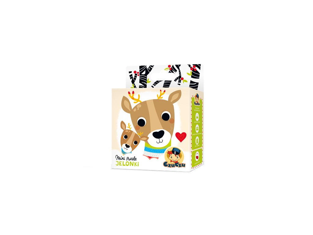 CzuCzu Mini puzzle Jelen