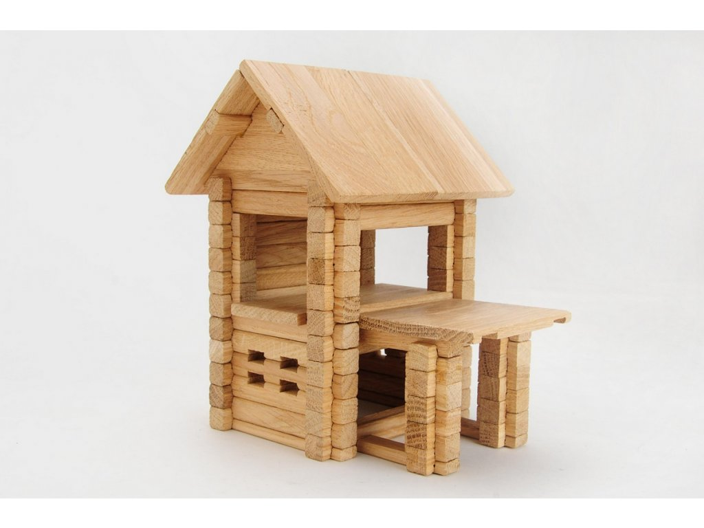 dřevěná stavebnice igroteco
