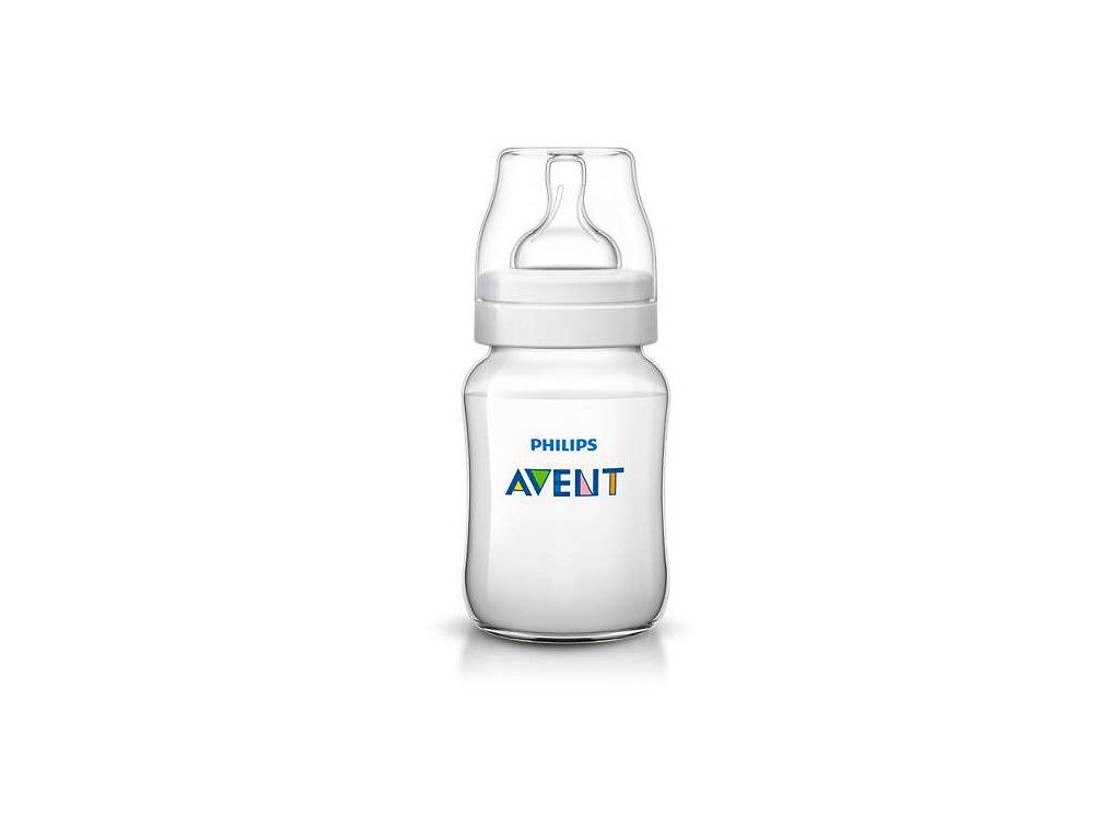 avent kojenecká láhev classic 260 ml