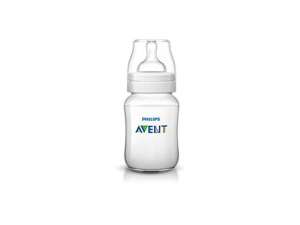 kojenecká láhev avent classic 260 ml