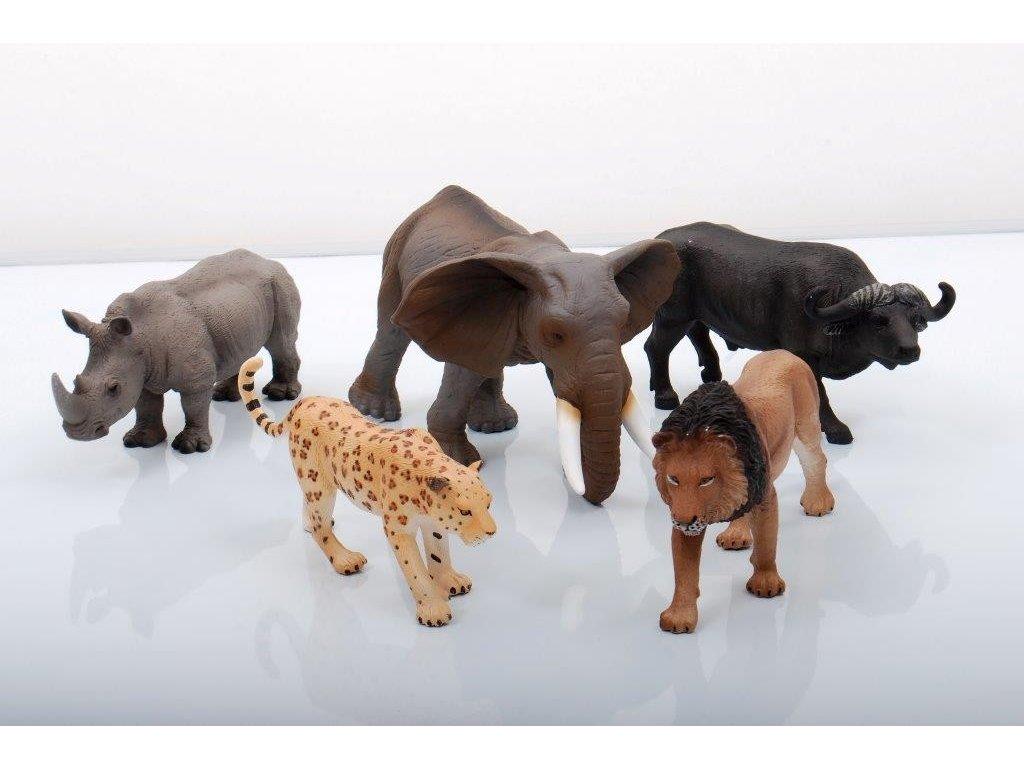 Safari zvířátka sada 5 ks