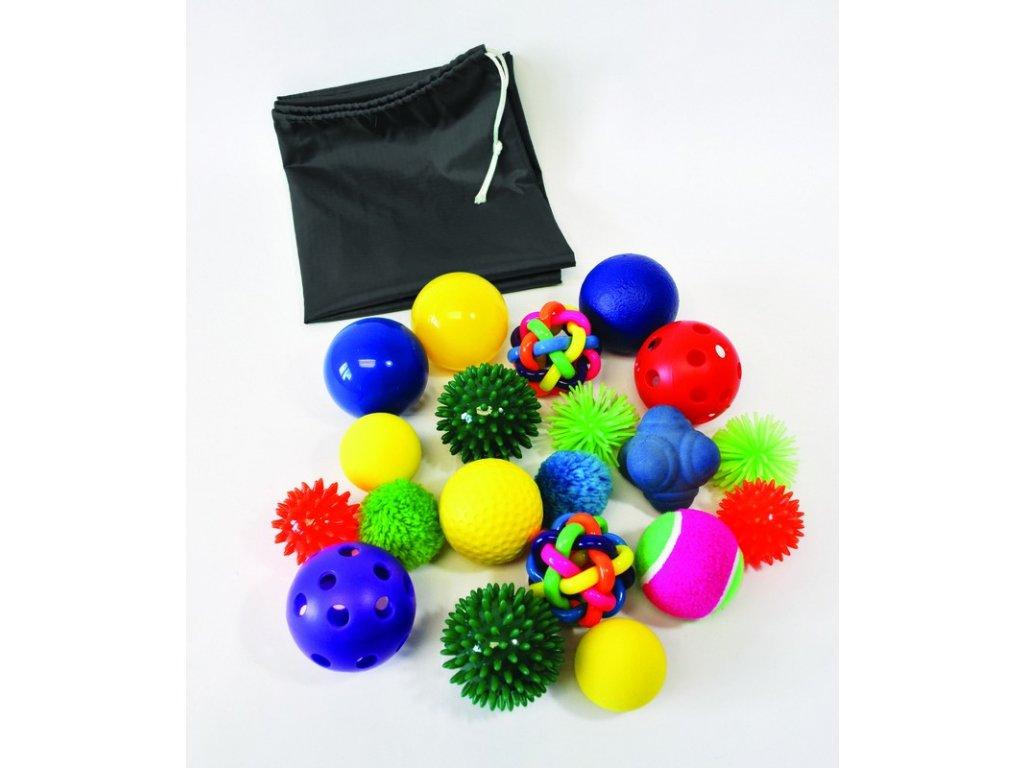 sada hmatových balónků