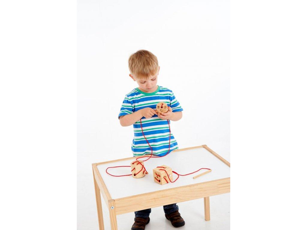 provlékací tvary montessori