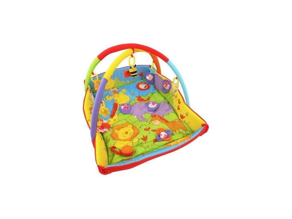 dětská hrací deka zoo baby mix