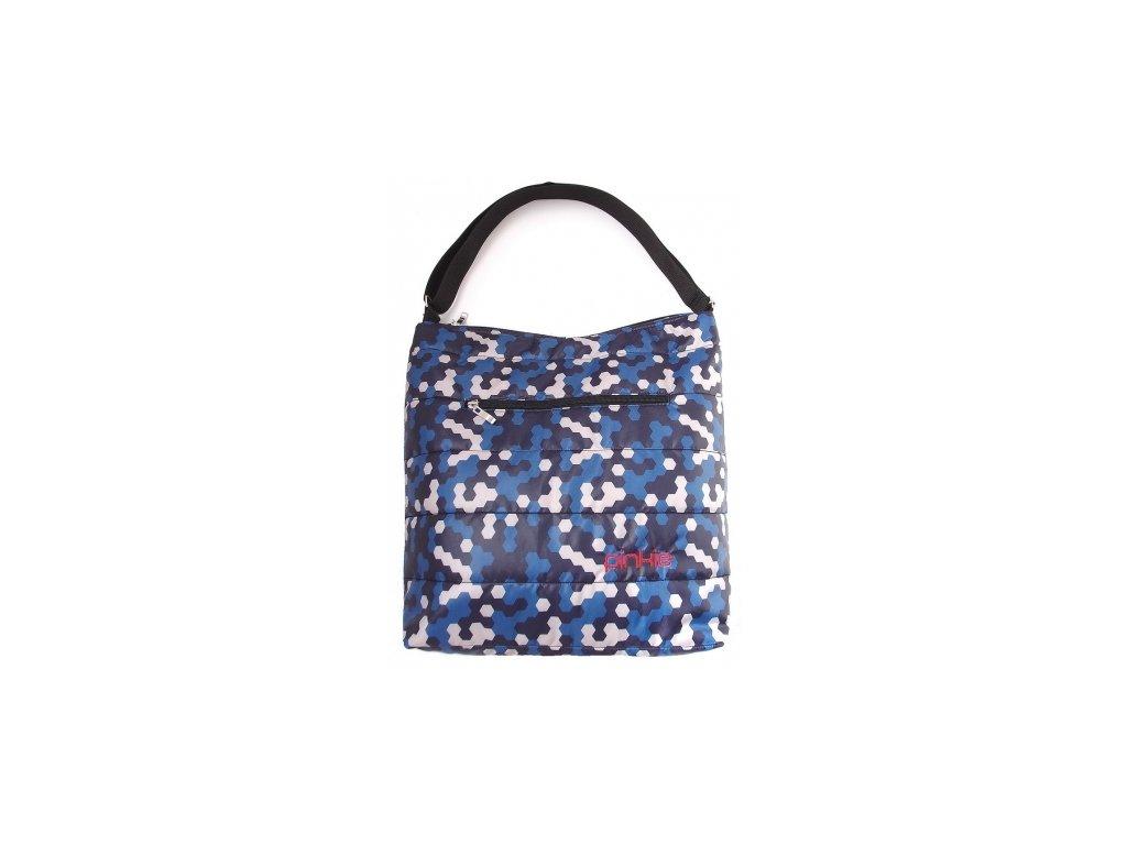 Pinkie velká taška na kočárek Blue Camo
