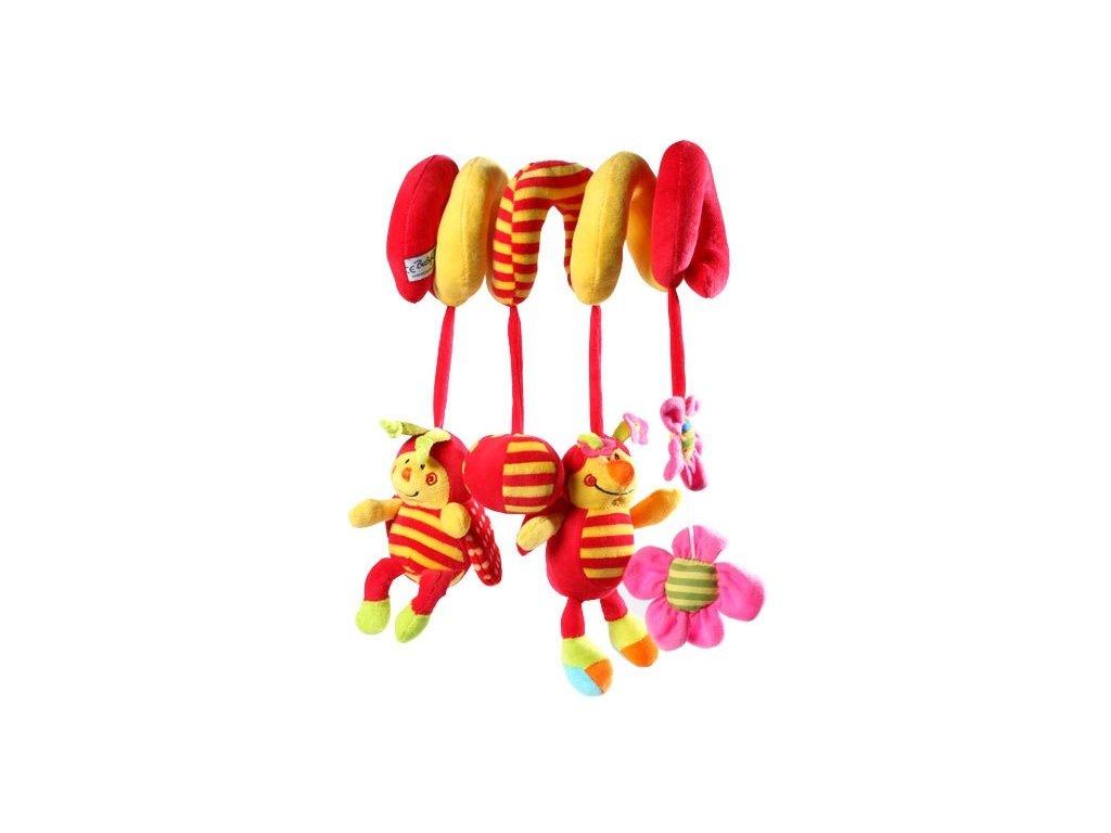 dětská hračka spirálka beruška