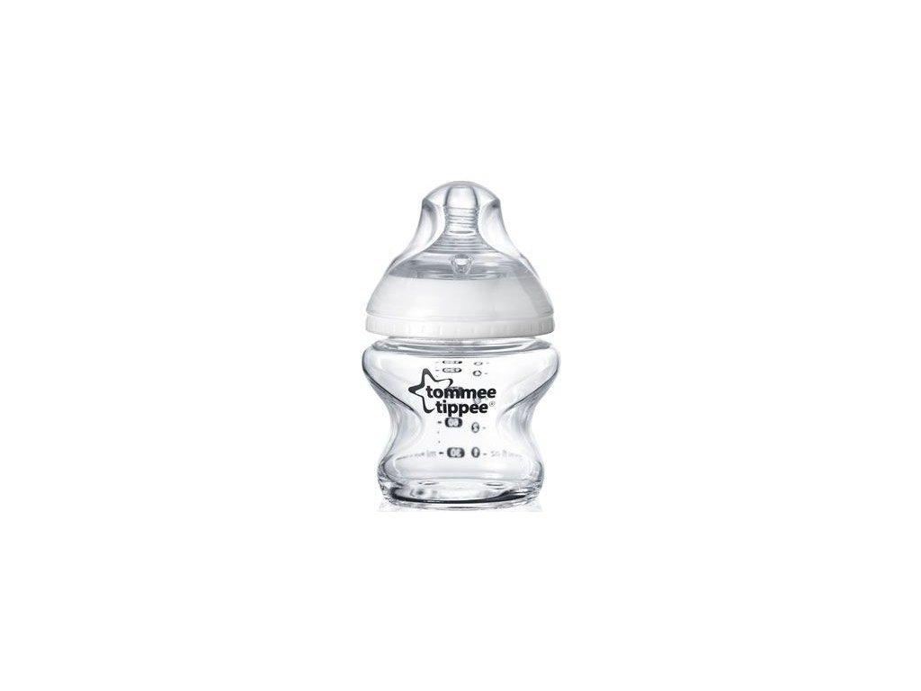sklaněná kojenecká láhev tommee tippee