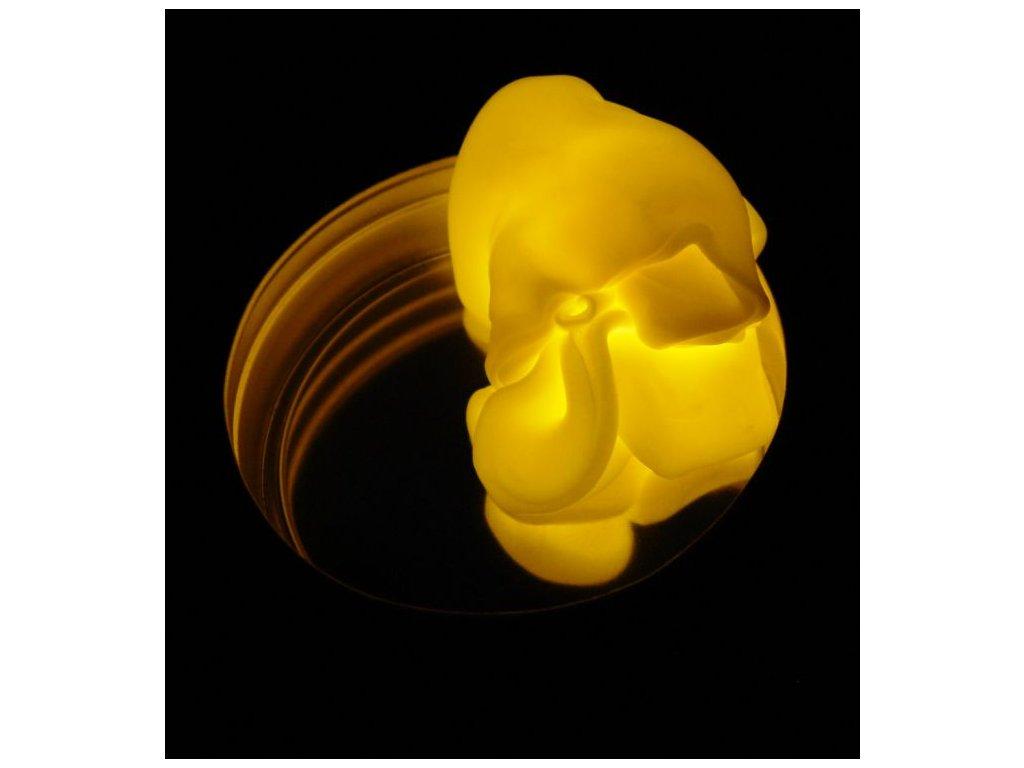 Inteligentní plastelína žlutá