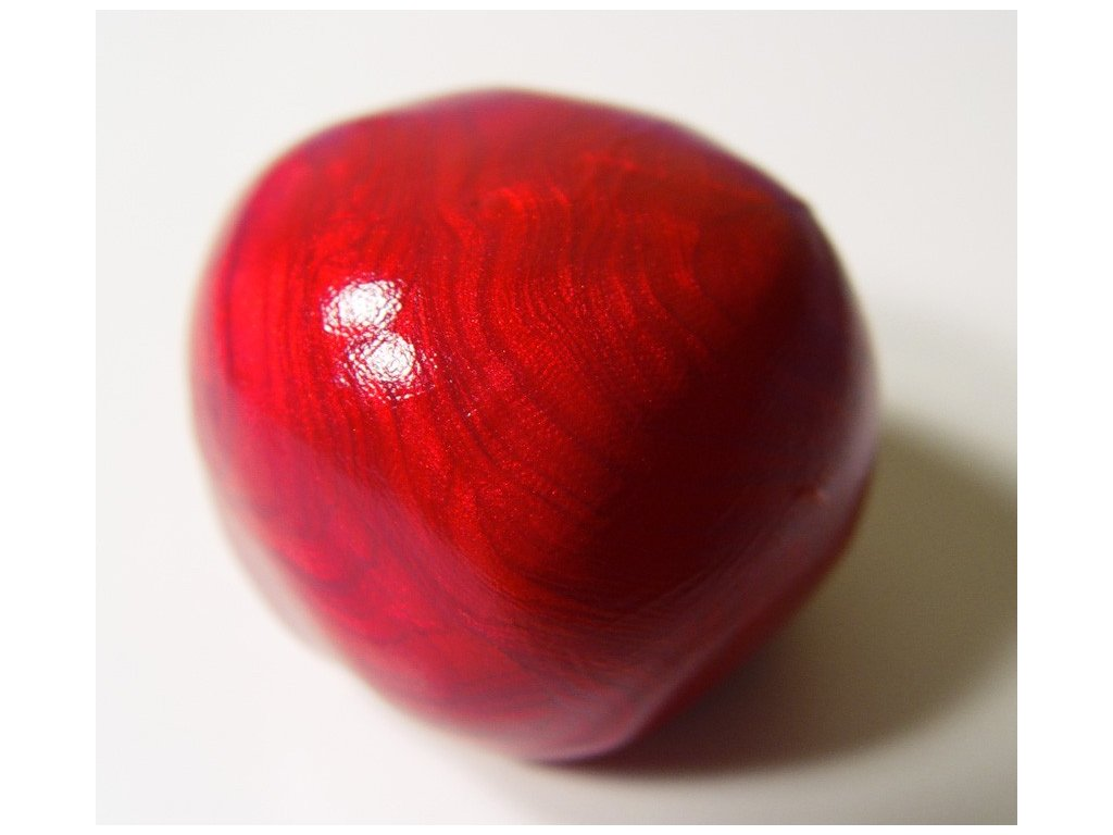 Inteligentní plastelína červená rubínová