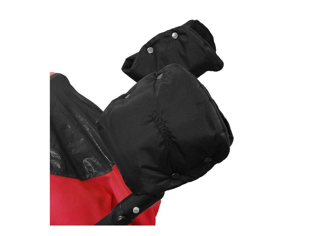 Emitex Rukávník ke kočárku/rukavice černý