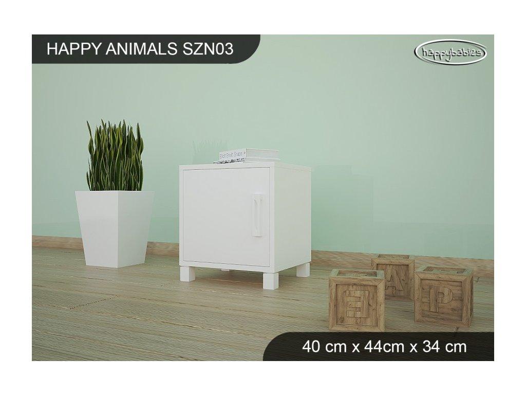 Noční stolek Animals SZN03