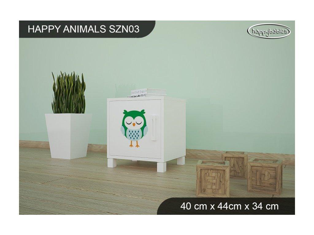 Noční stolek Animals SZN03 AM03