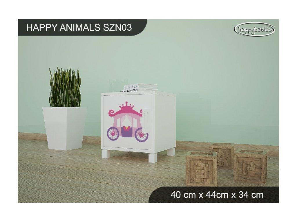 Noční stolek Animals SZN03 AM08