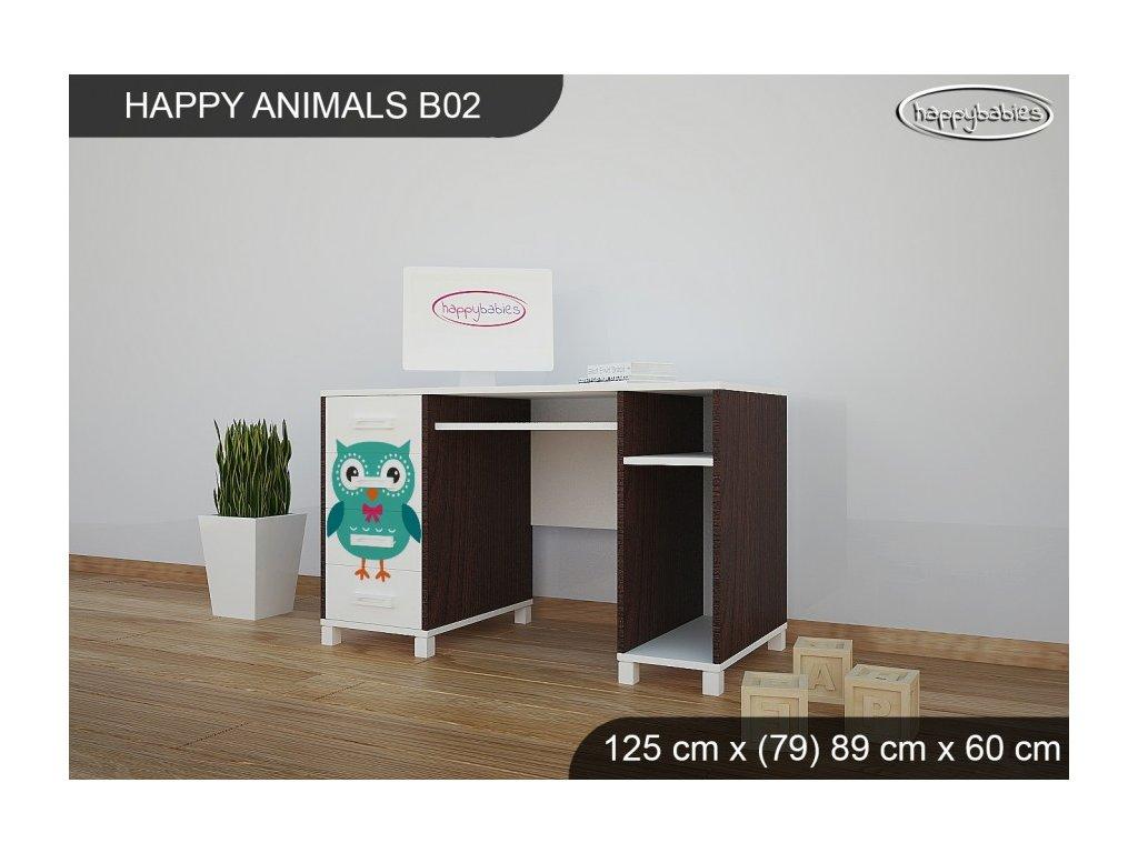Psací stůl Animals B02 AM02