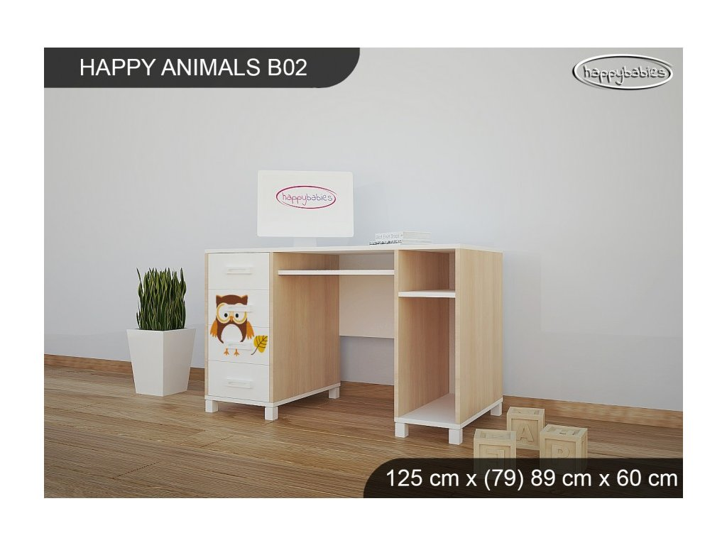 Psací stůl Animals B02 AM03