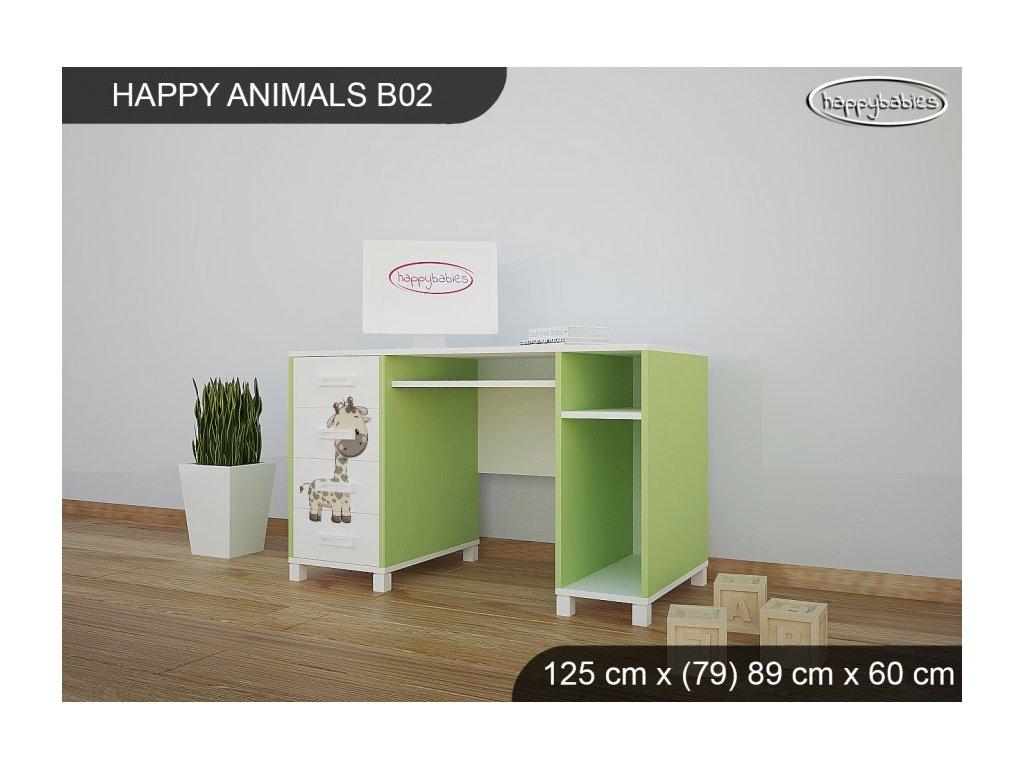 Psací stůl Animals B02 AM07